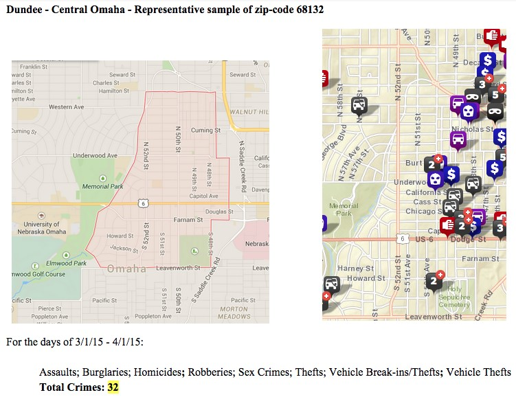 Income, Race, and Crime by Zipcode – Omaha Social Project on