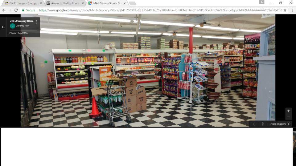 J-N-J Grocery store
