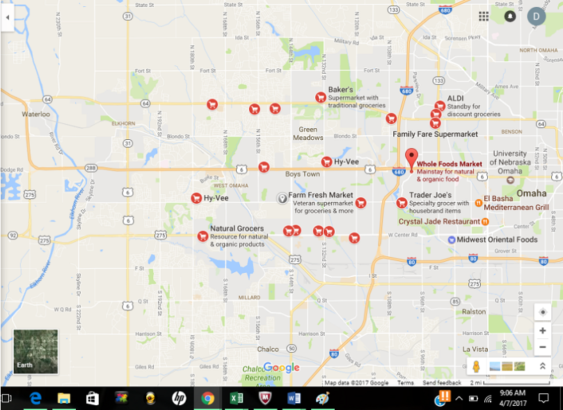 west omaha food deserts