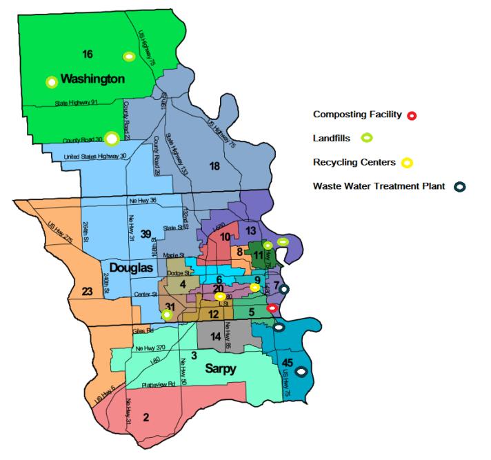Map Of Omaha